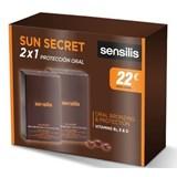 sun secret suplemento protetor & bronzeador oral  2x30 caps