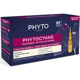 phytocyane ampolas antiqueda feminina 12ampolas de 7,5ml