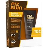 Piz Buin Tan and protect spf15 loção intensificadora do bronzeado 150ml + spf30 150ml