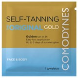 self-tanning natural uniform color 1 wipe