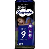 fraldas sleep tight 22-37kg, 10 unidades