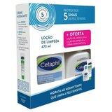 loção de limpeza pele sensível 473ml + bolsa