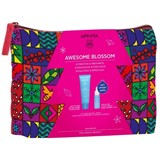 Apivita Coffret aquabeelicious creme conforto hidratante 40ml+booster 10ml+bolsa