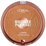 bronze please! la terra sun powder face&body 02 natural caramel 18g
