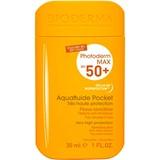 photoderm max aquafluide pocket spf50+ peles sensíveis 30ml
