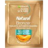 ambre solaire natural bronzer toalhita autobronzeadora 1 un.