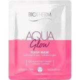 aqua glow super mask máscara em tecido 31gx1 un.