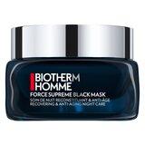 force supreme black regenerating care mask 75ml
