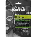 men expert pure charcoal purifying sheet mask 1 un.