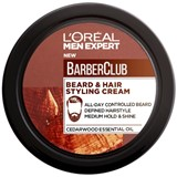 men expert barber club creme fixação barba e cabelo 75ml