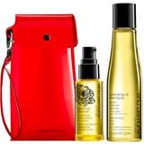 Shu Uemura Travel kit: shampoo em óleo suave 75ml + essence absolue óleo de camélia 30ml