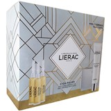 Lierac Coffret cica-filler sérum antirrugas reparador 3x10ml + creme 40ml + bolsa