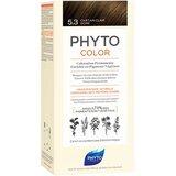 Phytocolor coloração permanente 5.3 castanho claro dourado