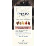 Phytocolor coloração permanente 4 castanho