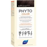 Phyto Phytocolor coloração permanente 4.77 castanho marron profundo