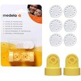 Pack 2 válvulas 6 membranas de vácuo