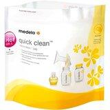 Quick clean sacos de esterilização para microondas 5unidades