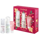 Caudalie Giftset vinosource sérum sos 30ml+sorbet cream 15ml + mousse 50ml