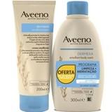 dermexa creme hidratante 200ml + gel banho emoliente 300ml