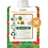 shampoo para todos os tipos de de caspa extracto de capuchinha 2x200ml
