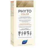 Phyto Phytocolor coloração permanente 10 louro extra claro bege