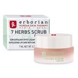 7 herbs scrub for lips esfoliante de lábios efeito alisante 7ml