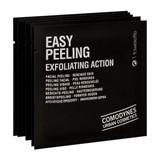 easy peeling esfoliante rosto, pescoço e decote 8unidades