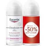 Eucerin Desodorizante roll on 48h 2x50ml