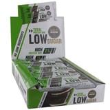 total low sugar barra de proteína sabor bolacha com natas 10x60g