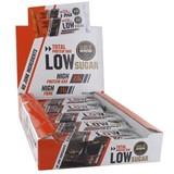 total low sugar barra de proteína sabor duplo chocolate 10x60g
