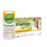 suplemento fortificante unhas e cabelo 60comp oferta shampoo 100ml