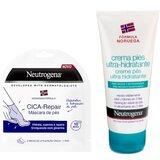 Neutrogena Kit sos pés - cica-repair máscara de pés 1 par + creme de pés 50ml