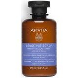Apivita Shampoo para couro cabeludo sensível  250ml