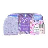 kit crystal clear: luva+ magnet cleanser + bolsa