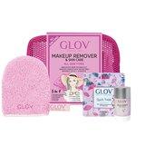 travel set todos os tipos de pele : luva+ magnet cleanser + bolsa