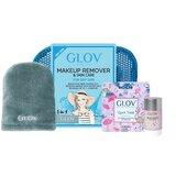 travel set pele seca : luva+ magnet cleanser + bolsa
