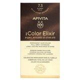 my color elixir coloração permanente 7.3 loiro ouro