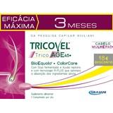 tricovel tricoage 45+ comprimidos pack triplo - 3x30comp