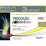 tricovel r-plus energy comprimidos para homem  pack triplo - 3x30comp