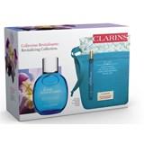 Clarins Coffret eau ressourçante 100ml+eau ressorçante 10ml bolsa