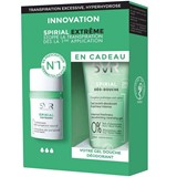 SVR Spirial extreme anti-transpirante intensivo 20ml + deo duche 50ml