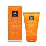 suncare creme anti-rugas spf50 para pele normal a seca 50ml (validade 11/2021)