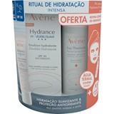 Avene Hydrance optimale uv creme ligeiro spf30 40ml+água termal 50ml+ compressas 5 un.