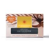 Institut Esthederm Coffret pó bronzeador e iluminador para rosto 15g + pincel + bolsa