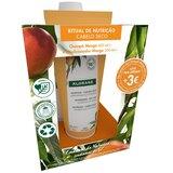 shampoo nutritivo com manteiga de manga 400ml + balsamo manga 200mlml