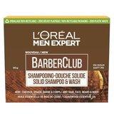 men expert barber club shampoo sólido 4-em-1 80g