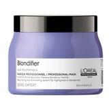 serie expert blondifier resurfacing and illuminating mask 500ml