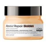 serie expert absolut repair máscara dourada cabelos danificados 250ml
