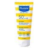 Mustela Leite solar de rosto e corpo spf50 100ml