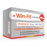 win-fit crómio suplemento alimentar 30comp